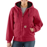 Women�s Carhartt Sandstone Active Jac/Quilted Flannel WJ130